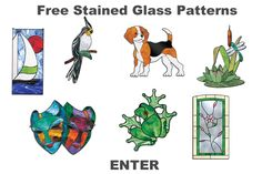 Stained glass patterns for free. This is a great website full of free patterns.