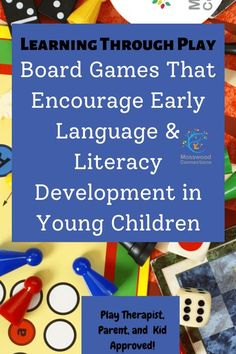 Board Games That Encourage Early Language & Literacy Development in Young Children #mosswoodconnections #education #litracy #boardgames #giftguides Kids Learning Activities, Educational Activities, Teaching Kids, Family Activities, Literacy Skills, Early Literacy, Preschool Literacy, Parent Resources, Learning Resources