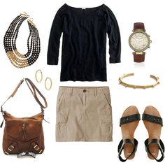 Easy Weekend Look, created by bluehydrangea on Polyvore