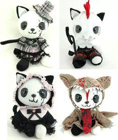 HANGRY AND ANGRY: H.NAOTO KITTY MASCOTS. | LA CARMINA. Japanese Fashion Blog, Goth style blogger, Tokyo Japan Gothic Lolita, Travel TV host
