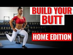 9 Bodyweight GLUTE Isolation Exercises You MUST Do for Your Butt (at Home) - YouTube