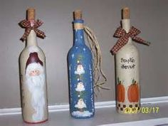 Image Search Results for painted bottle