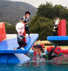 Has anyone else noticed that this fandom has suddenly become obsessed with wipeout?