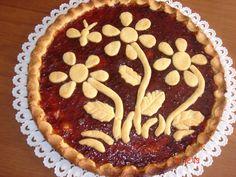 vaniglia e cioccolato: Crostata fiorita della mamma,la crostata dei ricordi