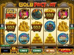 Ever tried to play 'Gold Factory' by Microgaming? You can play it for free here >> jackpotcity.co/i/5350.aspx