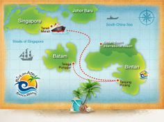 bintan island  | Property's map