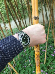 Bambou and Submariner Rolex