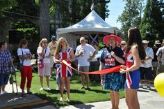 Her Majesty's Consul General Annabelle Malins got the celebrations underway at Oglethorpe University, in Atlanta. 2500 people from Atlanta's global community attended the festival to enjoy a taste of British and Commonwealth culture.