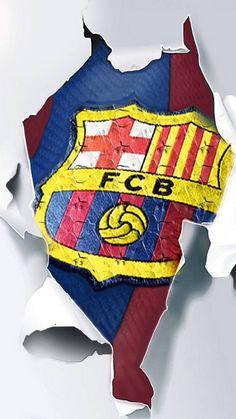 BARCELONA 🇪🇸 Barcelona Fc Logo, Barcelona Futbol Club, Barcelona Soccer, Football Hits, Football Tattoo, Football Players, Messi Soccer, Messi 10, Fc Barcelona Wallpapers