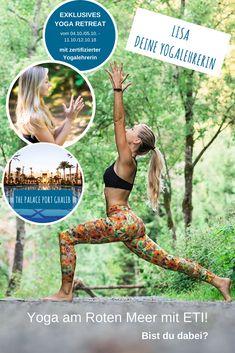 Yoga am Meer! Ägypten Yoga Reise - Rotes Meer Yoga Reise in Ägypten! Du suchst nach innerer Balance & Ruhe? Lisa nimmt dich mit auf eine Yoga-Reise ans Rote Meer und zeigt dir, wie Du auch im Alltag für Ausgeglichenheit sorgst. #egypt #ägyptenyogareise #ägyptenyoga #yogainägypten Yoga Retreat, Am Meer, Strand, Lisa, Movie Posters, Movies, Red Sea, Yoga Teacher, Beautiful Hotels