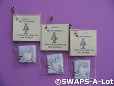 SWAPS-A-Lot - Mini My Pet Mummy SWAPS Kit for Girl Kids Scout (25)