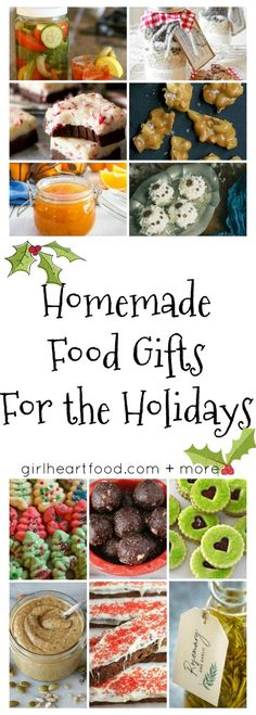 274 best homemade food gifts images on pinterest christmas recipes 12 easy homemade food gifts for the holidays girlheartfood more forumfinder Image collections