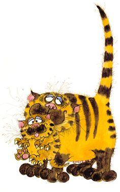 Kitten named Tiger by ElephantFingers