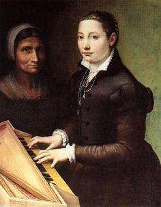 Sofonisba Anguissola - autoportrait