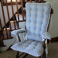Custom Buck Forest Rocking Chair Cushions Glider Replacement Pads Rocker Cu