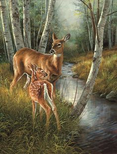 New mosaic Diamond painting cross stitch Deer in birch woods animal beads embroidery oil painting beads handwork kits sale