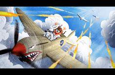 wannabeanimator:  Mr. Peabody & Sherman (2014) | visual development by Nate Wragg (x)