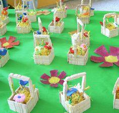Lavoretti di Pasqua per Bambini: Cestini Pasquali da realizzare con le mollette | Shoppy