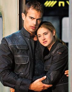 Divergent Tris and Four (Shailene Woodley and Theo James) Divergent Film, Divergent Fandom, Divergent Insurgent Allegiant, Insurgent Quotes, Divergent Quotes, Four From Divergent, Peter Divergent, Divergent Dauntless, Allegiant
