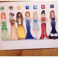 Un dessin de robe d'application