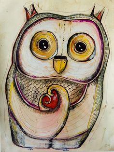 'HeartOwl' by Hanna Eliasson