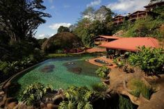 Peace Lodge Heredia Offering an indoor pool and a restaurant, Peace Lodge is located a 1-hour drive from San Jose in Vara Blanca. Free WiFi access is available in this lodge.  The accommodation will provide you with a TV and a balcony.
