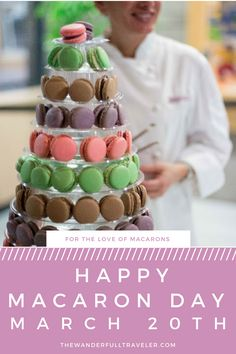 For The Love of Macarons & A Great Cause. Celebrate Macaron Day with Sandrine's French Pastry and Chocolate in Kelowna, BC, Canada - The Wanderfull Traveler