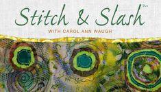 Stitch & Slash: Online Class