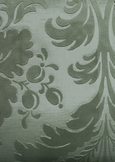 Jean Bart Velvet Damask  Embossed sage green velvet damask. Suitable For Contract Curtains and Upholstery.