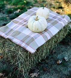 Provide Warm Blankets Throw blankets made from simple cuts of fleece from a fabrics store keep guests toasty when they're not settled by the fire.