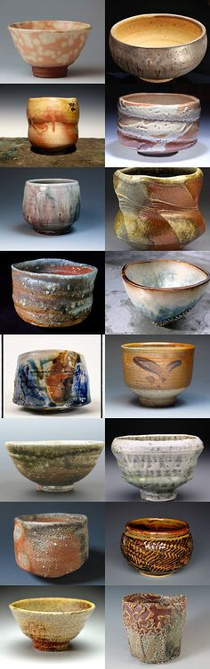 Reflecting Images of Humanity by allan elliott on Etsy--Pinned with Ceramic Bowls, Ceramic Pottery, Ceramic Art, Japanese Ceramics, Japanese Pottery, Chinese Tea Set, Japanese Tea Cups, Matcha Tea Powder, Keramik Vase
