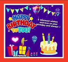 Birthday Hug, Birthday Wishes Funny, Birthday Songs, Fairy Birthday, Very Happy Birthday, Happy Birthday Banners, It's Your Birthday, Beautiful Birthday Wishes, Happy Panda