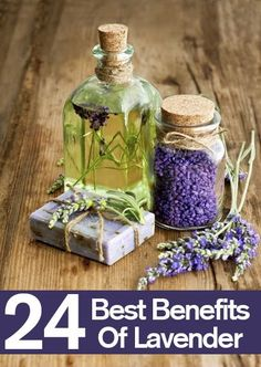 24 Best Benefits Of Lavender... link for list of many different benefits: http://www.stylecraze.com/articles/benefits-of-lavender-for-skin-hair-and-health/?ref=pin