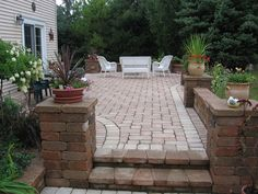 Raised Patios Landscape Design, Garden Design, Gazebos, Raised Patio, Grey Gardens, Patio Ideas, Backyard Ideas, Garden Ideas, Decks And Porches