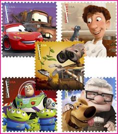 The new disney stamps :-)