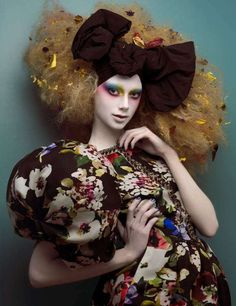 Couture Porcelain Dolls: 'Spring Couture' by Paco Peregrin & Kattaca