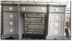 grey painted furniture - - Yahoo Image Search Results
