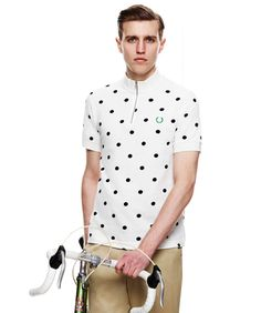 polka dot designed cycling jerseys - Google Search