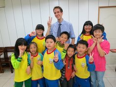 Teacher Max in Taiwan