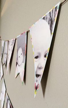 Silhouette America Blog | First Year Photo Banner | Silhouette Cotton Canvas