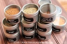 for those that LOVE to organize..here's a DIY Spice Organization tutorial :)