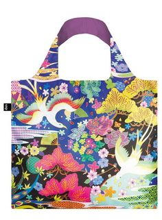 #Bag# Tasche# Sac # Bolsa# Shinpei Naito is a cutting edge Japanese artist and graphic designer, whose collaborations have led him to the arms of Adidas, MCM and Asics. His style is futuristic and fantastical, colourful and evocative.  Weave your way in and out of his wonderfully wild world.