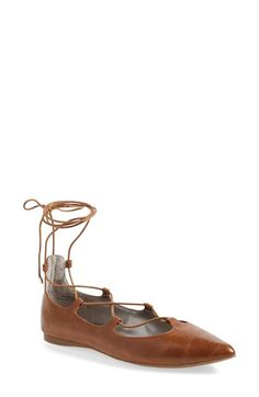 Free shipping and returns on BP. 'Katrina' Pointy Toe Lace-Up Flat (Women) at Nordstrom.com. A trend-right flat is fitted with a svelte pointy toe and thin ghillielaces for a season-spanninglook that will instantly update anyensemble.