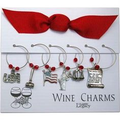 Legal Profession Wine Charms