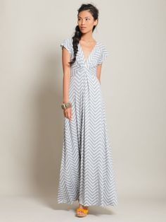 perfect dress with the colors, shape, and  chevron print, but it's out of stock