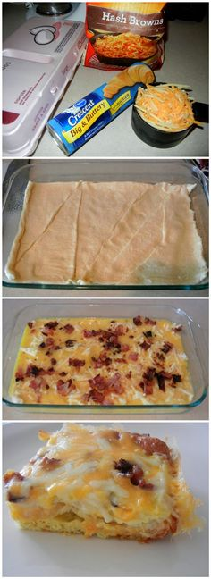 Breakfast Omelet Casserole Recipe-i might have to try this one day cuz i am running out of ideas for breakfast