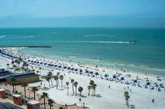 View from Hyatt Regency Clearwater Beach http://celebrationsoftampabay.com/photographers-clearwater-beach/