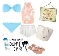 """""""Beaches and Bikinis"""" by aegreen23 on Polyvore"""