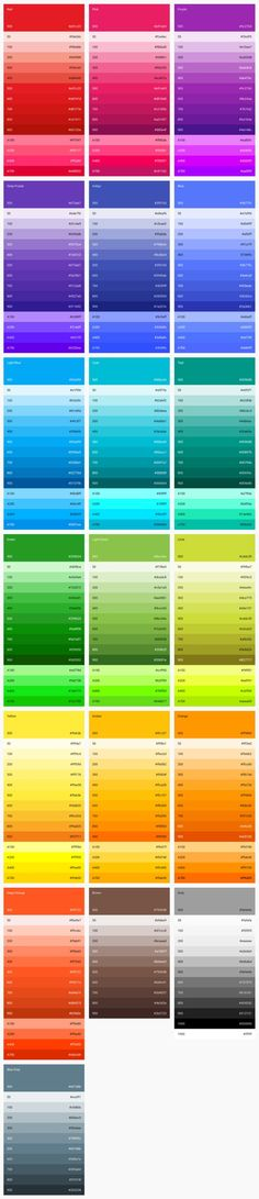 Material Design - Style - Color-UI Post a on for and get unlimited Web Design, Flat Design, Ui Color, Colour Board, Design Color, Text Color, Colour Pallete, Colour Schemes, Color Palettes