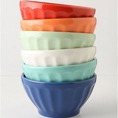 Anthro latte bowls